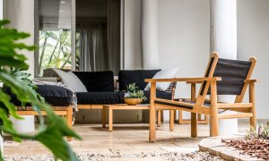 Baby Blue - Byron Bay - Outdoor Seating Area a