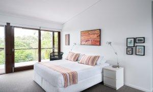 Ayana Byron Bay - bedroom 1 to balcony