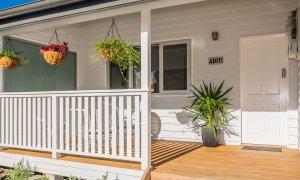 Aditi - front porch