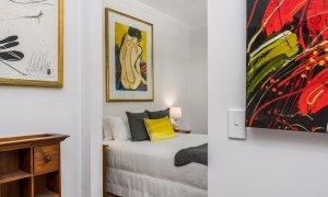 Aditi - queen front bedroom looking back from walk in