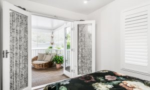 Anchored in Byron - Byron Bay - Bedroom 4 Looking Out to Rear Entertaining Area