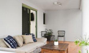 Apartment 1 Surfside - Byron Bay - Rear Balcony b