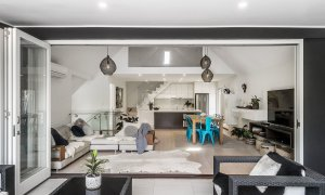Arya - Byron Bay - Open Plan Living from Balcony