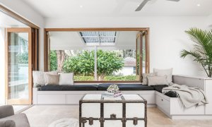Augustine - Byron Bay - Downstairs Lounge And Sitting Area d