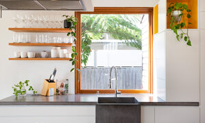 Bacchus - Byron Bay - Kitchen Custom Sink and Cabinetry