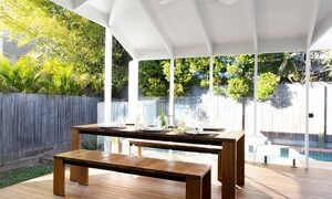 Bacchus - Byron Bay - Outdoor table styled b