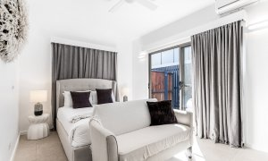 Bahari Studio - Byron Bay - View From Kitchenette To Bed