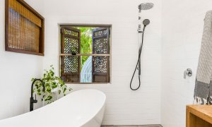 Bamboo Beach House - Byron Bay - Studio Bathroom a