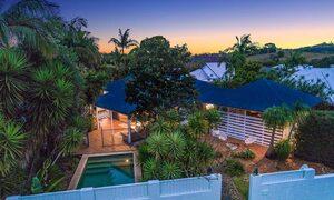 Bangalow Palms - Byron Bay - Aerial Shot h