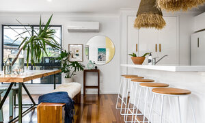Bangalow Palms - Byron Bay - Kitchen and Dining Area