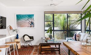 Bangalow Palms - Byron Bay - Living Area Looking from Dining Room and Kitchen