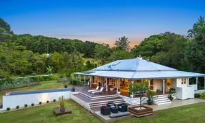Bellbird - Byron Bay - Looking across to pool and rear deck b