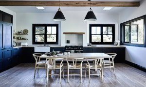 Bennys Cottage - Byron Bay - Real Living Shoot Kitchen and Dining Left Styling