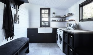 Bennys Cottage - Byron Bay - Real Living Shoot Laundry