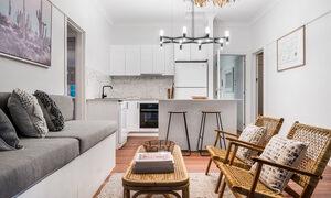 Bohemian Bangalow - Byron Bay - Living Area Looking Towards Kitchen b