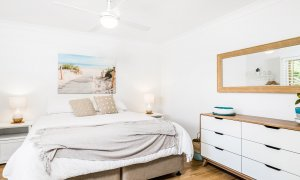 Boulders Retreat - Lennox Head - Master Bedroom