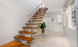 Byron Beach Style - Stairway to Second Floor