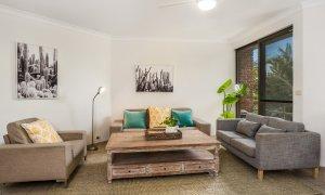 Byron Breeze 5 - Byron Bay - Clarkes Beach - living room