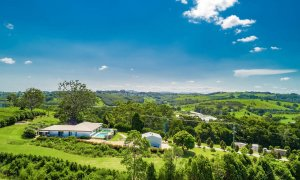 Byron Hills Hinterland Retreat - Byron Bay - Aerial View d