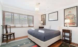 Byron View - Clarkes Beach - Bedroom 2 King Split