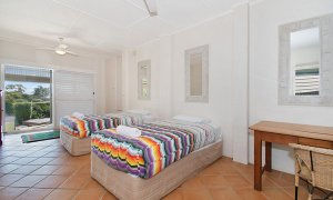 Byron View - Clarkes Beach - Bedroom 4 Downstairs
