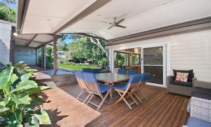 Byron View - Clarkes Beach - Rear Deck