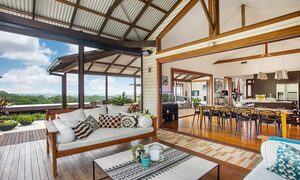 Callistemon View - Byron Bay Hinterland - Federal - dining through to outdoor area