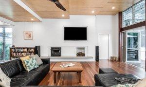Cavvanbah Seaside Cottage - Byron Bay - Lounge