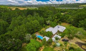 Byron Creek House - Ariel View