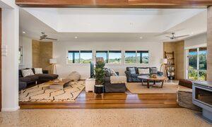 Hinterland Harmony - double lounge room view