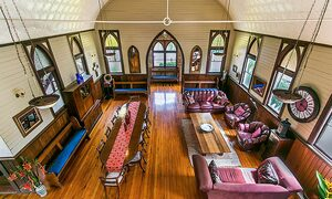 The Old Church - Dining & Living Area