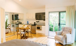 Ivory Villas - Kitchen & Living Area