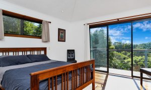Jannah - Lennox Head - Master Bedroom with view