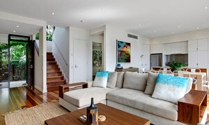 Ocean View at Kiah - lounge and kitchen