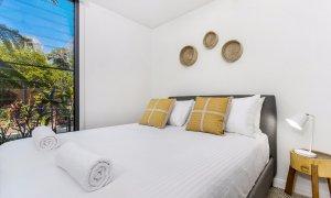 Kiah Beachside - Belongil Beach - Byron Bay - downstairs queen room
