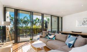 Kiah Beachside - Belongil Beach - Byron Bay - spacious lounge