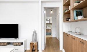 Luxe & Bloom - Brunswick Heads - Living Area Looking Towards Bedrooms