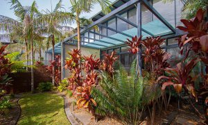 Ocean View at Kiah - Byron Bay - Private Garden b