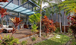 Ocean View at Kiah - Byron Bay - Private Garden