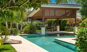 Ocean Walk - Seadrift pool with picnic pavilion