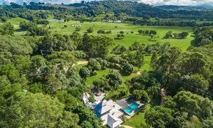 Ourmuli - Byron Bay - Aerial Image - High View Towards Bangalow