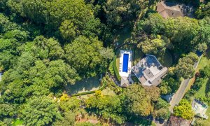 Paperbark - Byron Bay - Aerial Down to House