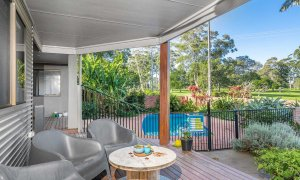 River Links - Lennox Head - Back Deck to Pool