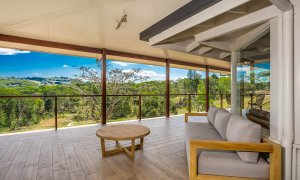 Rockinghorse House - Byron Hinterland - Outdoor Lounge