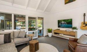 Rockinghorse House - Byron Hinterland - Media room