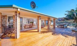 Sea Deck - Skennars Head - Deck Back to Living Area