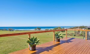 Sea Deck - Skennars Head - Deck to Reserve to Beach