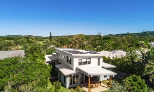 Shore Beats Work - Byron Bay - Aerial of House