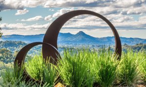 Summer Breeze - Byron Bay - Sculpture with a View