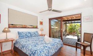 The Hawk - Wategos Byron Bay - Bedroom 2 Downstairs